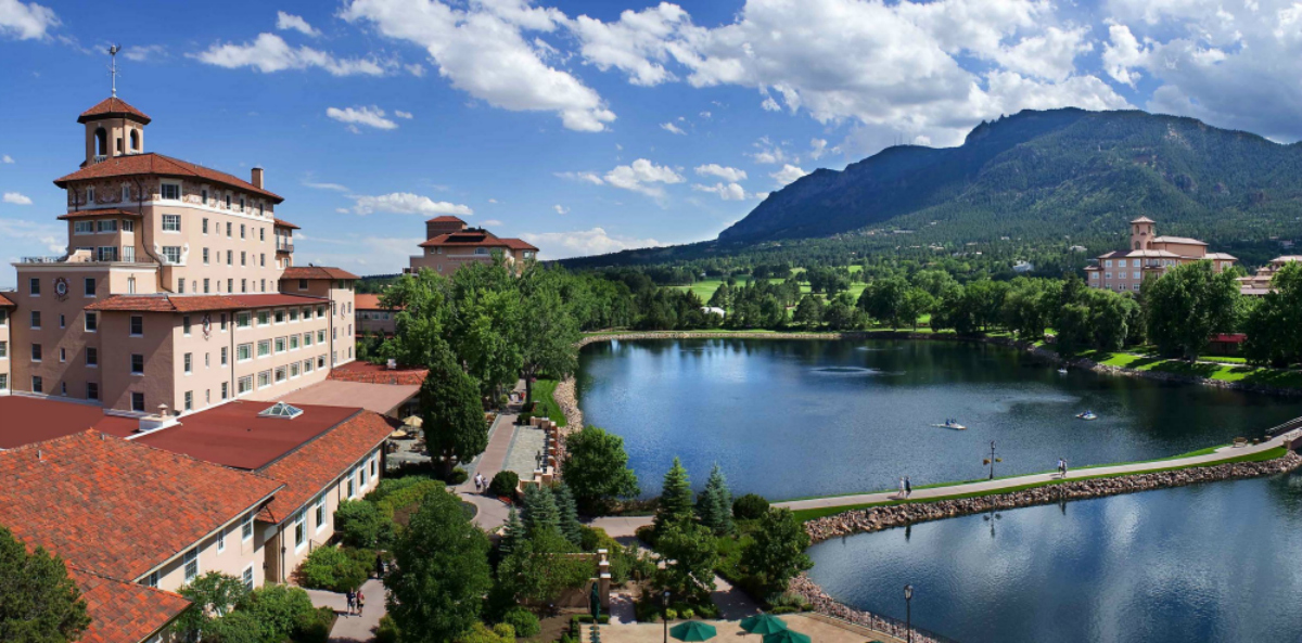 Leap into your next spring vacation with travel deals at multiple Historic Hotels of American and Worldwide, including The Broadmoor, Colorado Springs. Photo credit: The Broadmoor/ Kevin Syms