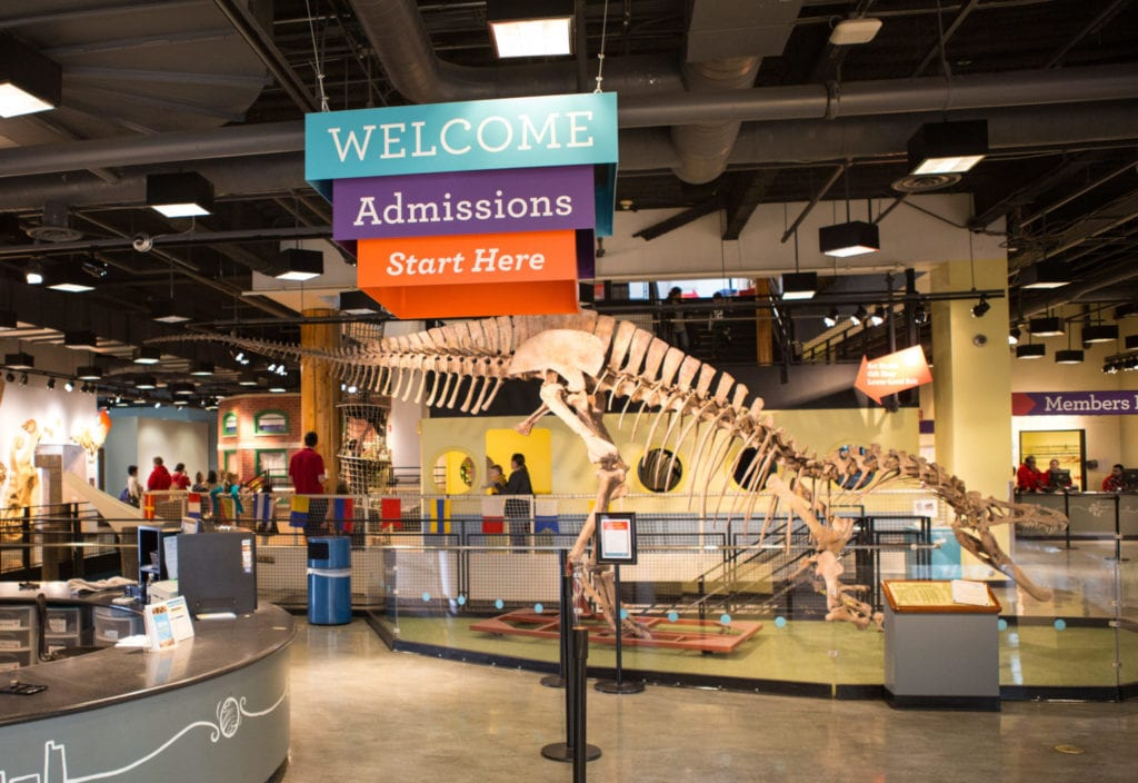 Chicago Children's Museum is a popular spot for families at Navy Pier.