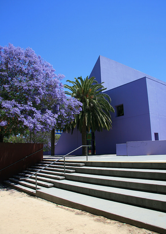 The iconic purple Children's Discovery Museum. Photo credit: Children's Discovery Museum of San Jose.