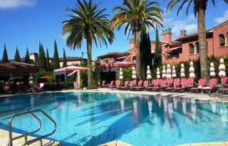 One of four pools at the Fairmont Grand Del Mar. Photo credit: Gwen Kleist, Healthy TravelingMom.