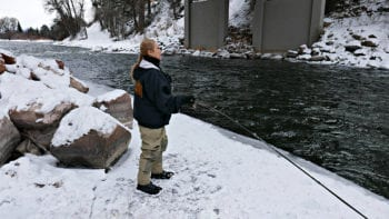Not a Skier? Try Fly Fishing in the Winter