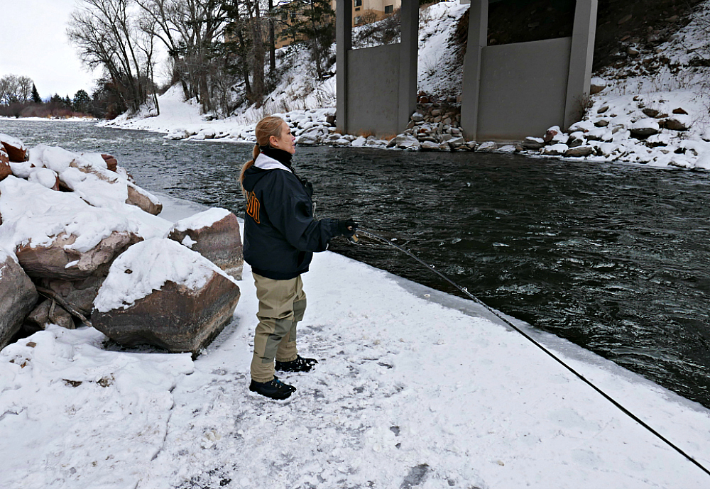 Gone Fishing Colorado, Fly Fishing in the Winter