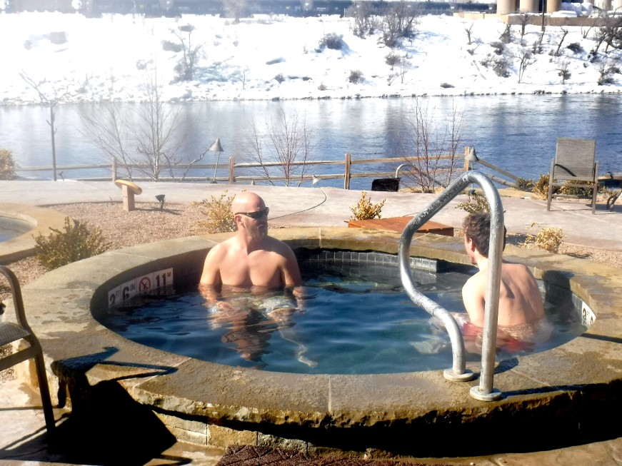 Relaxation & Rejuvenation at Iron Mountain Hot Springs!