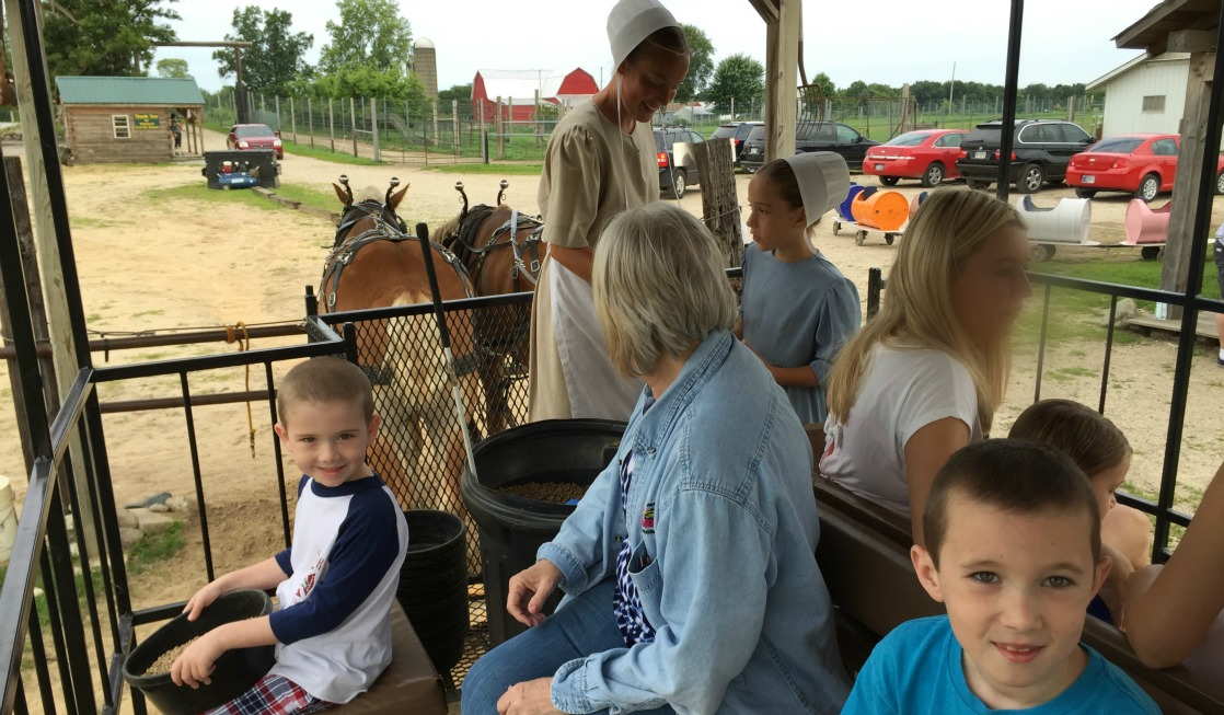 Wagon Ride at Dutch Creek Farm Animal Park