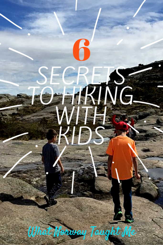 Hiking with Kids in Norway: Six Survival Secrets