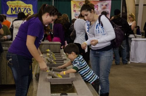 Photo courtesy of Chicago Family Palooza This giant indoor fest features all sorts of hands-on indoor activities.