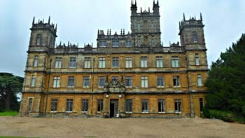 Highclere Castle England, where Downton Abbey was filmed