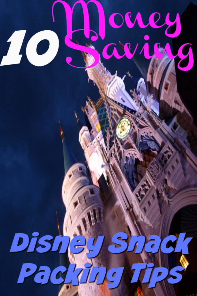 10 Disney Snack Packing Tips To Save $50 A Day