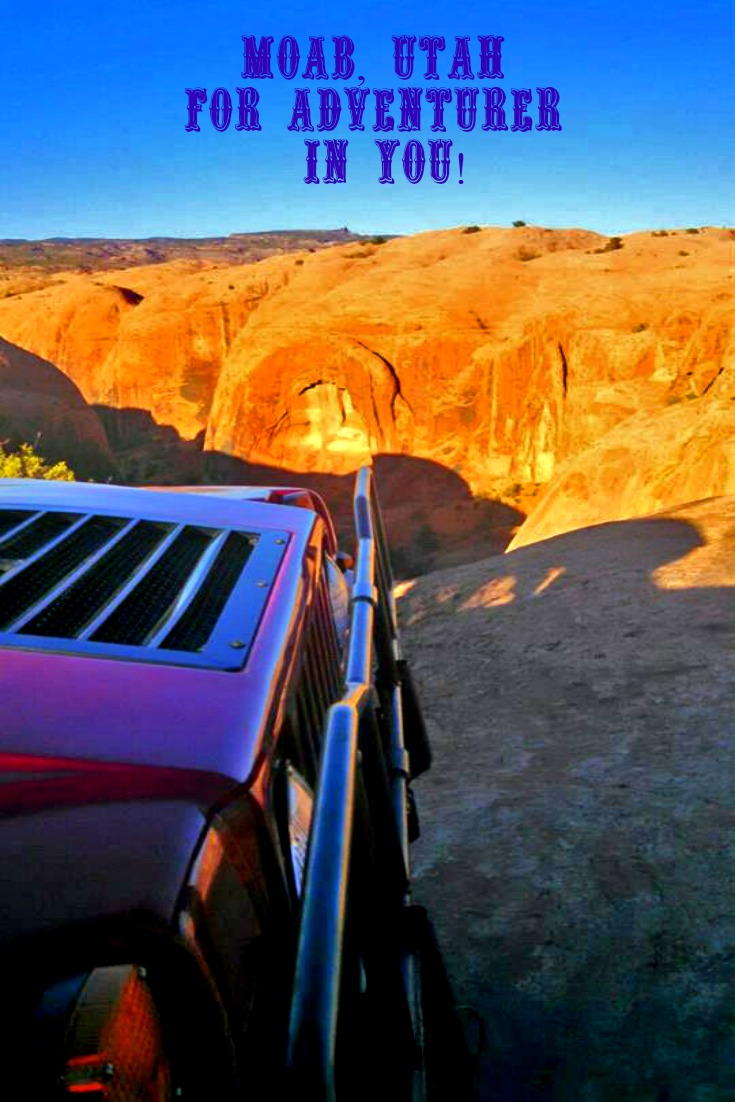Moab, Utah - Sunset Hummer Tour