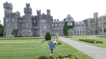 Ashford Castle in Cong, County Mayo, Ireland
