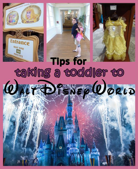 Tips for taking a toddler to Walt Disney World