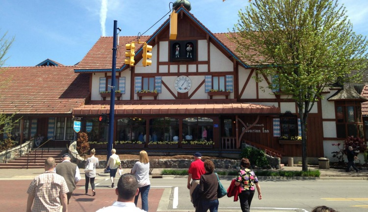 Bavarian Inn Restaurant in Frankenmuth, Michigan. Photo by Karyn Locke / Road Trip TravelingMom
