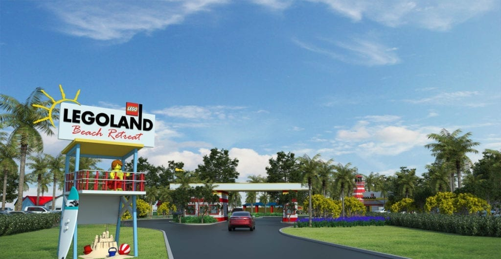 The LEGOLAND Florida Expansion to open LEGOLAND Beach Resort in 2017.