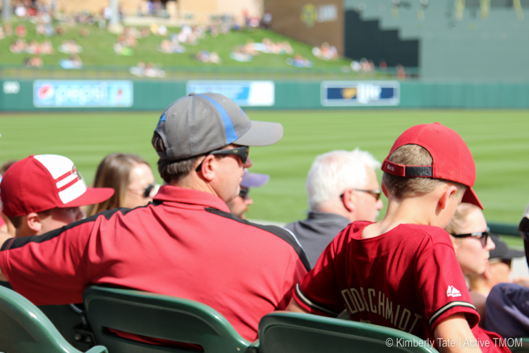 Cactus League games are a family tradition Photo credit: Kimberly Tate / Active TravelingMom