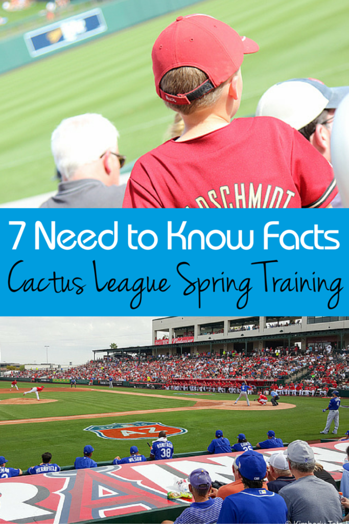 The perfect family vacation for baseball fans - head to Phoenix Arizona for Cactus League spring training games, but before you go, you must read these 7 tips!