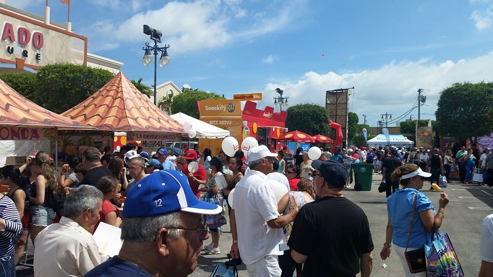 Calle Ocho is a huge Latin-themed street party in Miami.