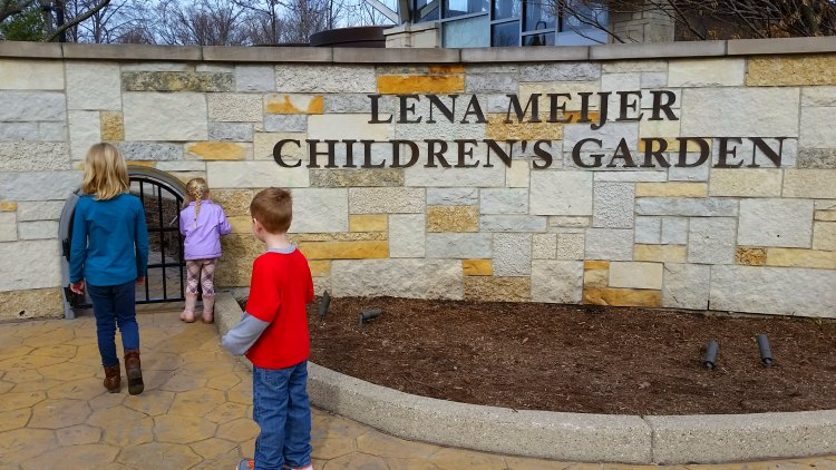 Entrance to the Frederik Meijer Gardens. Photo by Mary Moore / Retro TravelingMom