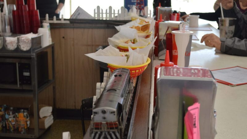 "Experience American Hamburger History at a Diner known for ""Hamburgers on Wheels"""
