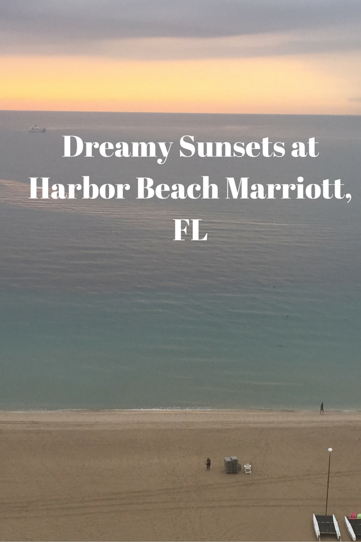 Dreamy Sunsets at Harbor Beach Marriott, FL