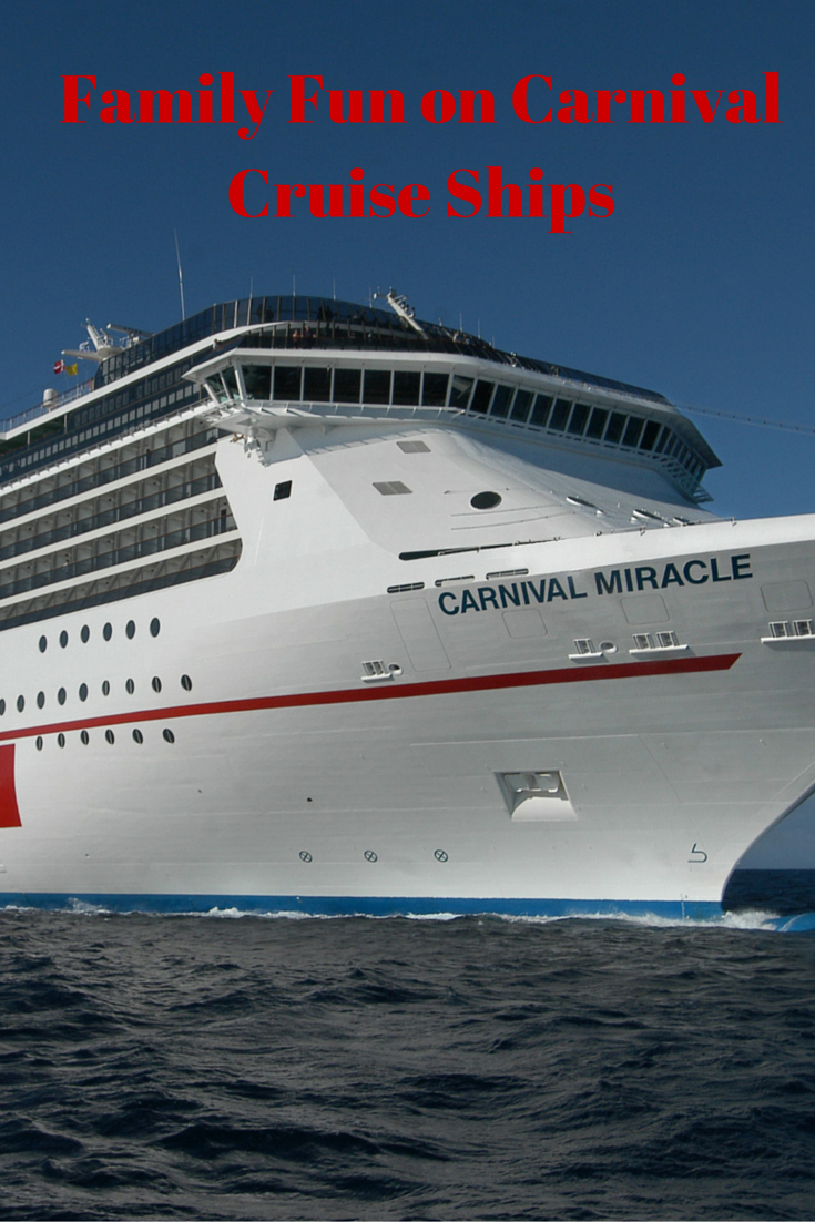 Family Fun on Carnival Cruise Ships