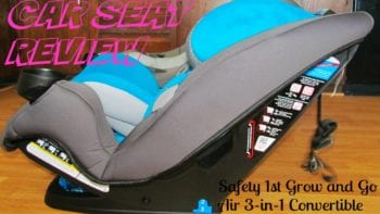 Grow and Go Air car seat