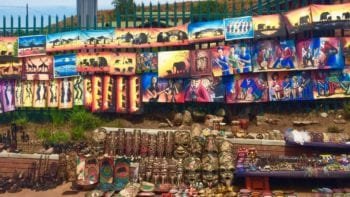 Soweto in Johannesburg has open air markets
