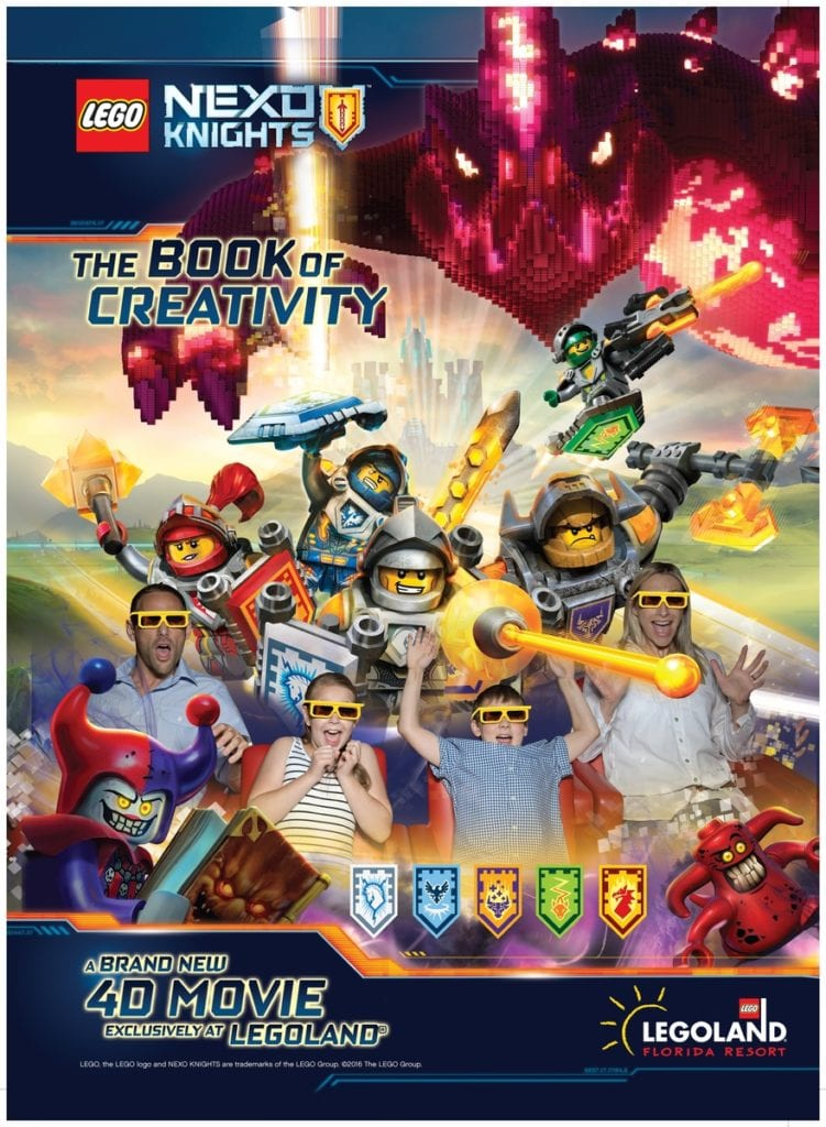 NEXO KNIGHTS to be featured in new 4D movie at LEGOLAND Florida.