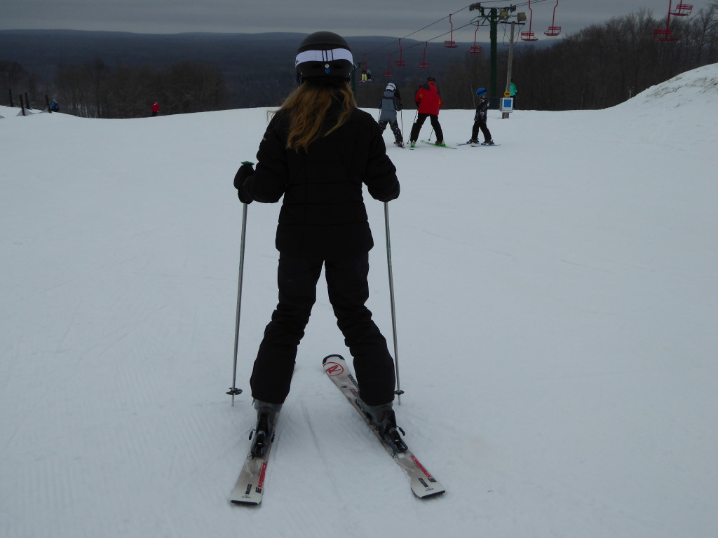 Photo by Jamie Bartosch/Suburban TravelingMom Indianhead Mountain Resort in Michigan has a great ski school for kids.