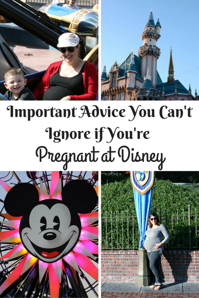 Pregnant at Disney - Important Advice You Can't Ignore