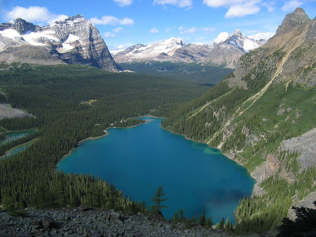 Parks Canada Lake O'Hara in Yoho National Park