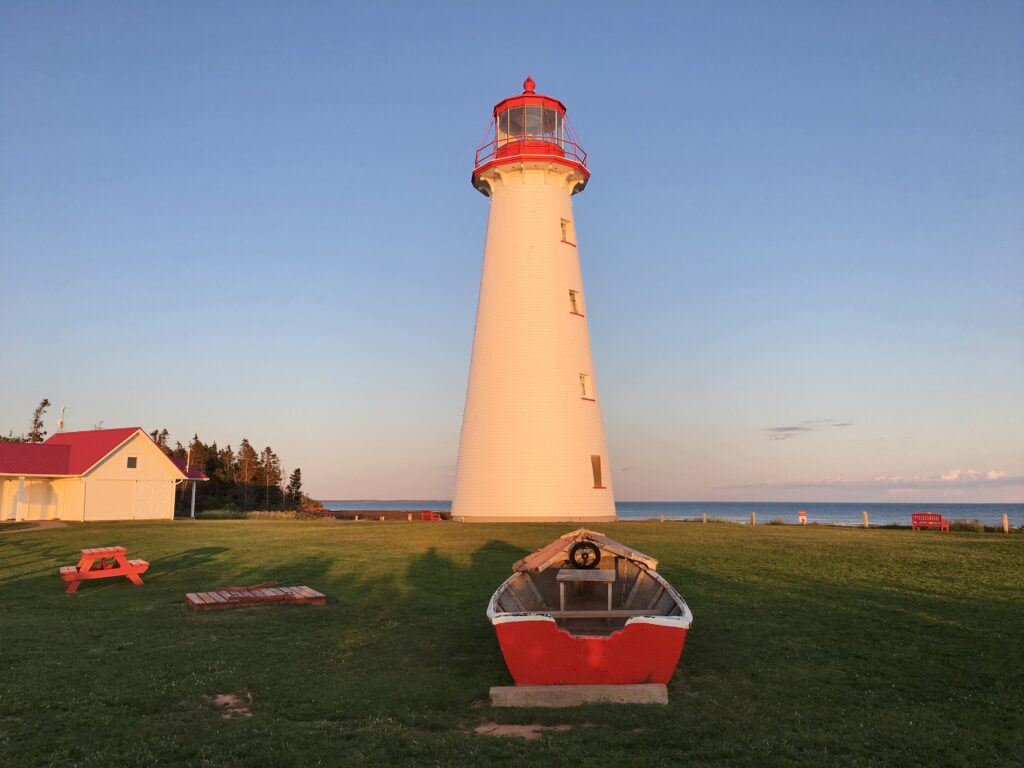 lighthouse on Prince Edward Island, Parks Canada