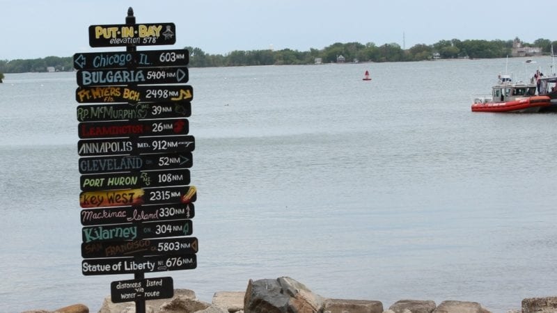 Explore the islands of Lake Erie beginning with Put-in-Bay on South Bass Island.