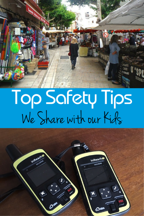 How to keep kids safe when they travel without us.