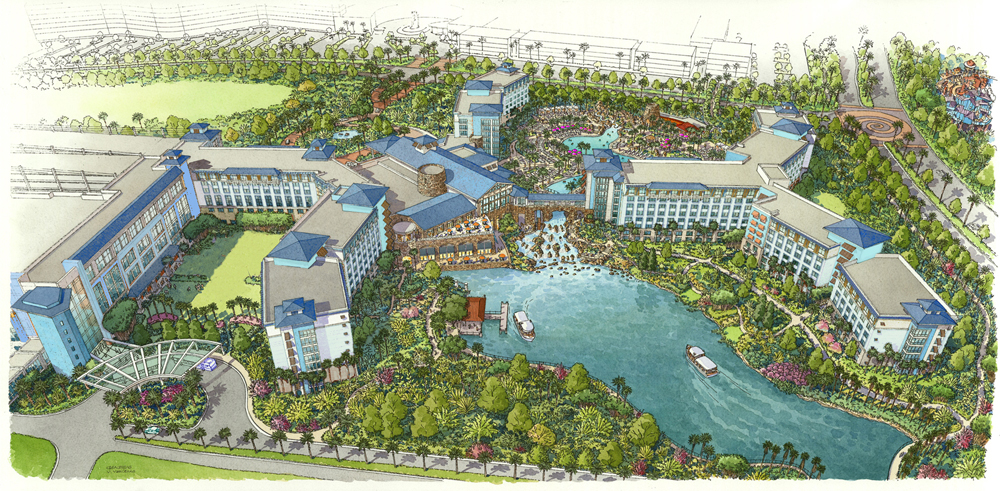 Six Reasons to Stay at Sapphire Falls Resort at Universal Orlando