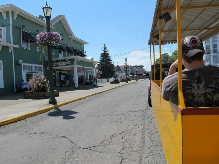 The Put-in-Bay Tour Train offers a great overview of the island, sharing history and pointing out the most popular attractions.