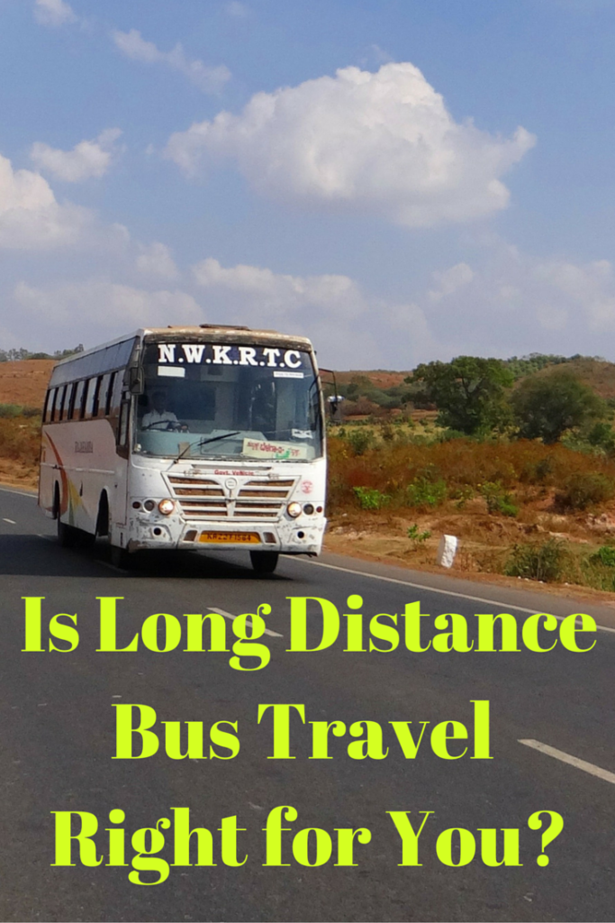 Is long distance bus travel right for you? Photo from Pixabay