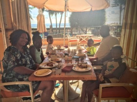 """The Meditereanean breakfast buffet is one of the things to make you go """"Eau MG"""" at Eau Palm Beach."""