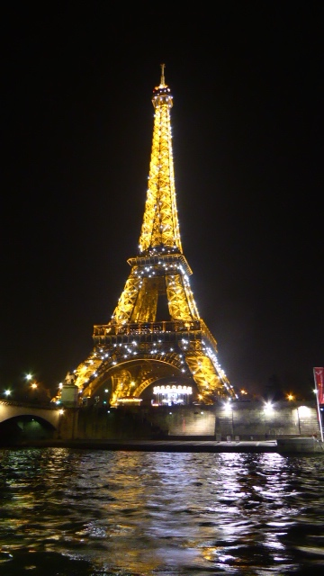 The Eiffel Tower in Paris can't be dimmed by terrorist attacks. Photo by Desiree Miller / Family Fun TravelingMom