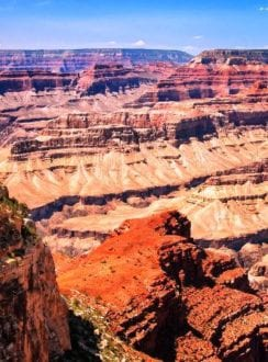 The Grand Canyon. Photo credit: Gwen Kleist, Healthy TravelingMom.