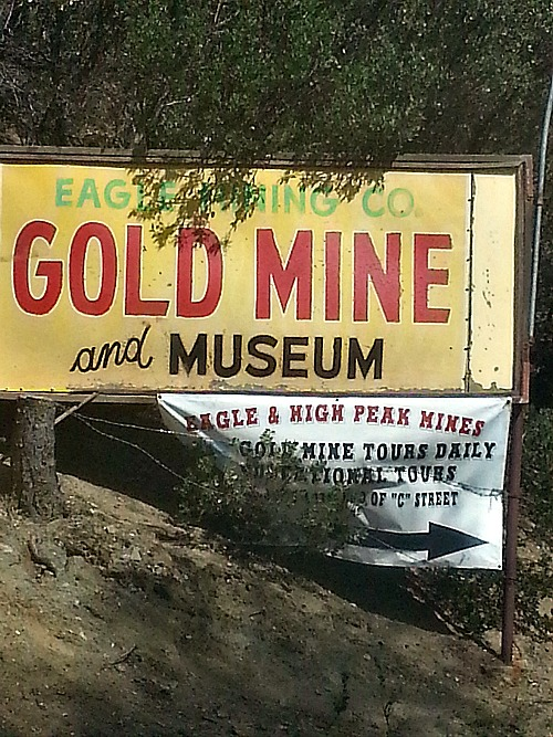 Eagle Gold Mine in Julian California