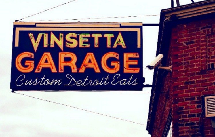 Vinsetta Garage in Berkley, Michigan. Photo by Mary Moore / Retro TravelingMom