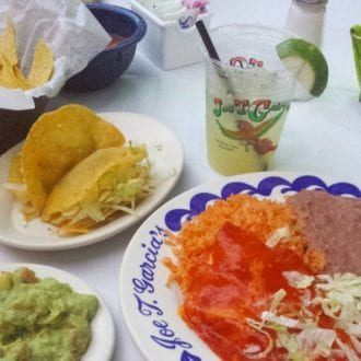 5 things to eat in Dallas, joe t garcias, places to eat in ft worth
