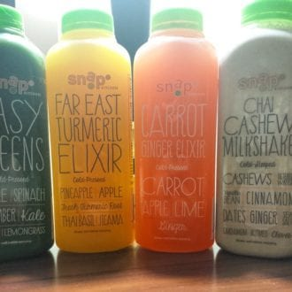 5 things to eat in dallas, snap kitchen, juice cleanse