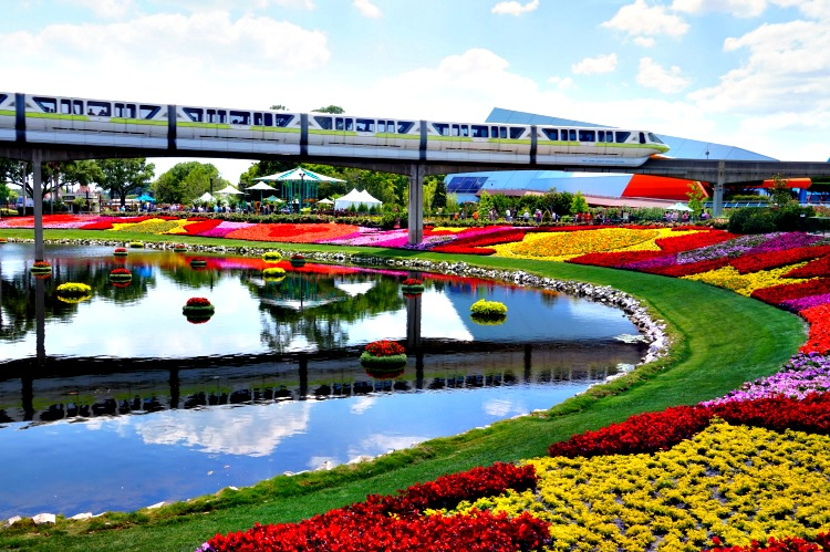 Disney girlfriend getaway. Epcot's International Flower & Garden Festival delivers spring beauty.
