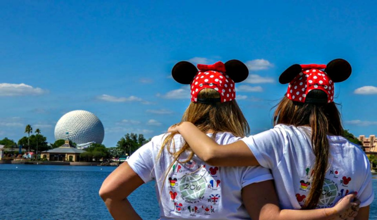 You will find Disney girlfriend getaway at its best at Epcot.