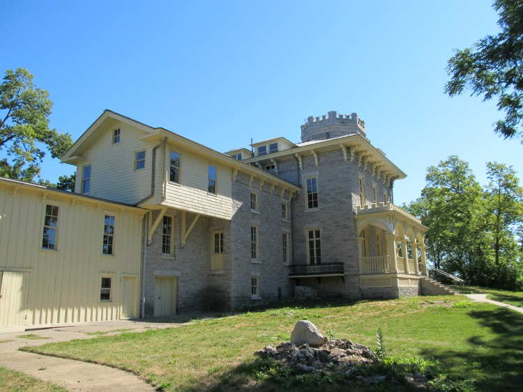 Ohio's Castles: Cooke Castle on Gibraltar Island
