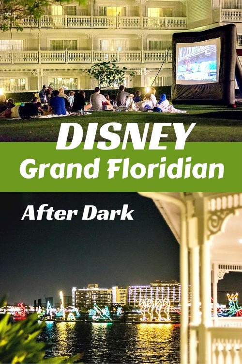 what to do at disney grand floridian after dark?
