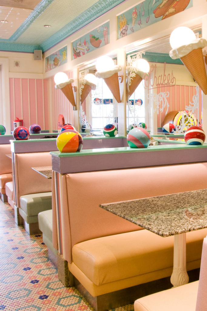 Disney Yacht Club Resort ice cream parlor