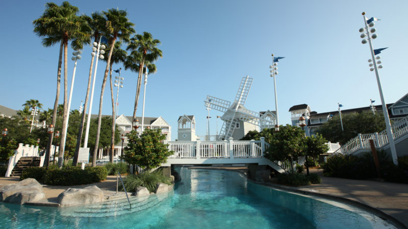 Pool at the Disney Yacht Club Resort at Walt Disney World