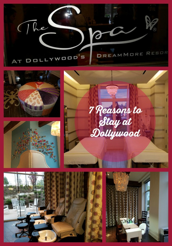 The Spa at Dollywood's DreamMore Resort